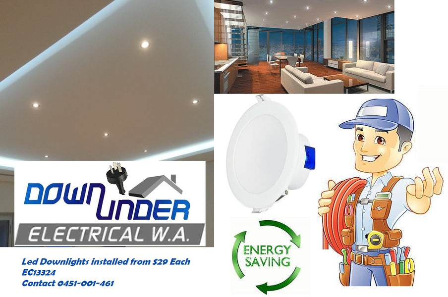 Perth Led Downlight installation service