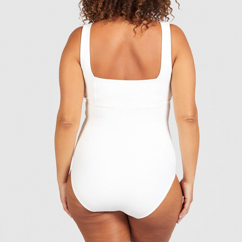 All The Right Places / one piece / White textured