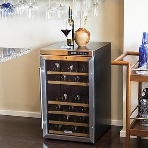 EdgeStar 34 Bottle Wine Cooler with Compressor