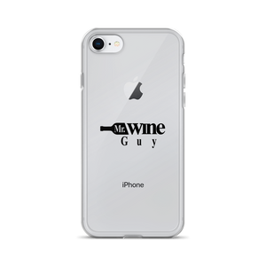Mr. Wine Guy iPhone Case