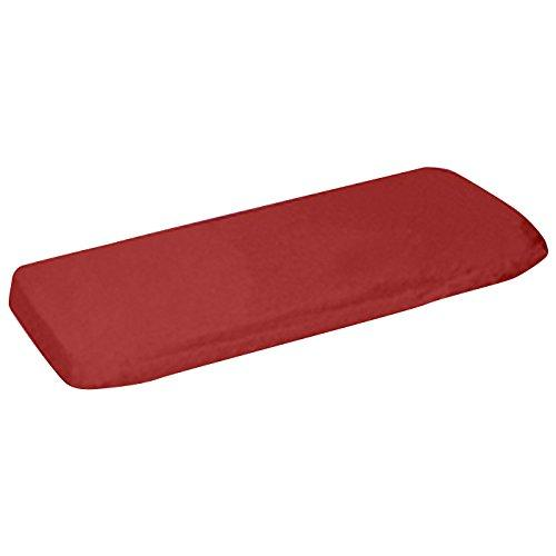 aBaby Crib/Toddler Flat and Fitted Sheet, Red