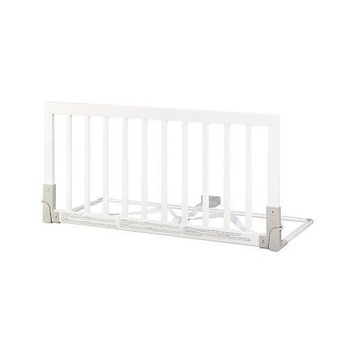 BabyDan Wooden Bed Guard (White)
