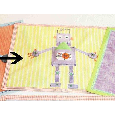 The Little Acorn Placemat, Purple Robot