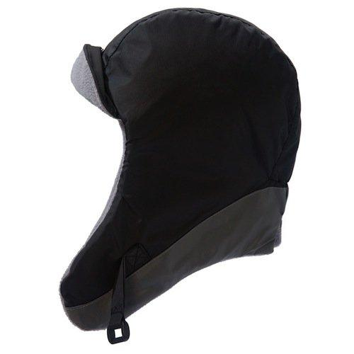7AM Enfant Classic Chapka Hat 212, Black/Gray, Medium