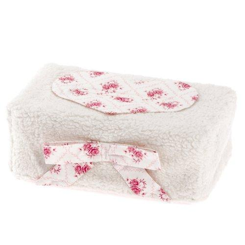 Therese Accessoires Teddy Rosina Cover for Baby Wipes (17 x 9 cm)