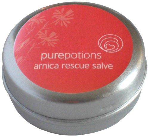 Pure Potions Arnica Rescue Salve - Suitable For Use on Bumps, Bruises, Strains and Sprains 15ml