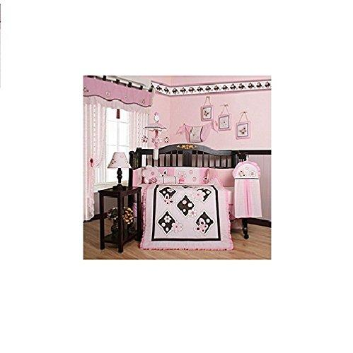 Nursery tagged crib bedding littleduckusa geenny boutique 13 piece crib bedding set pink butterfly gumiabroncs Choice Image
