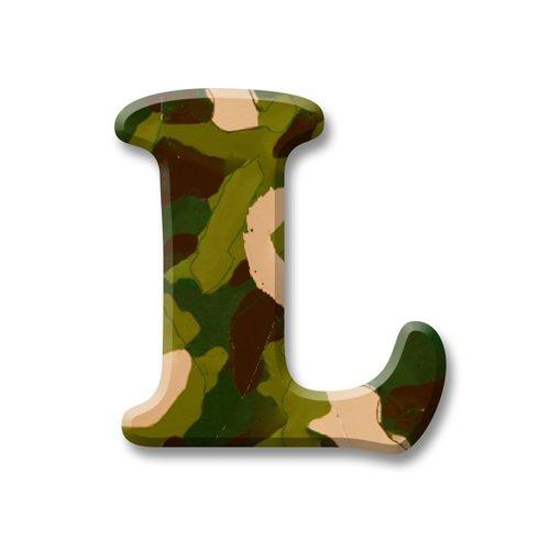 aBaby Crazy Letter, L, Camo