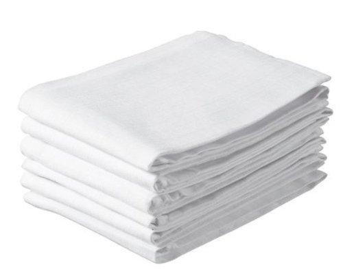 Jollein Hydrophilic Nappy Cloth (6 Pack, White)