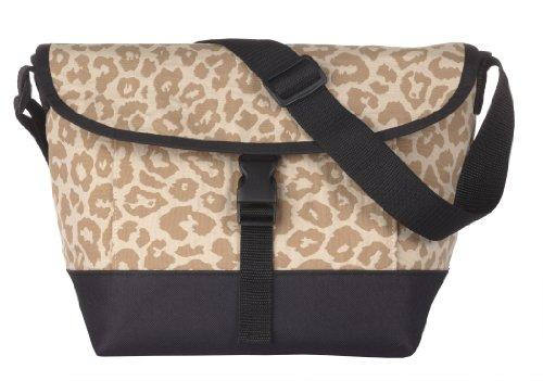 Sally Spicer Baby Messenger Bag, Leopard Honey