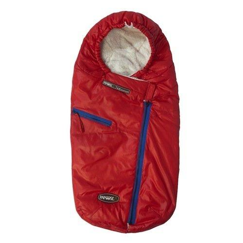 7AM Enfant Papoose Light Weight Baby Bunting Bag, Red, Small/Medium