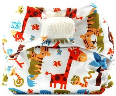 Piriuki Easy All In Velcro Pocket Diaper (Universal, Into The Jungle)