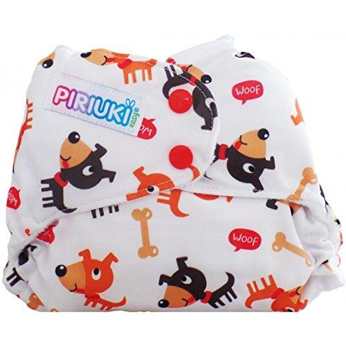 Piriuki Easy All In Pocket Diaper (Universal, Woof Woof, Multi-Colour)