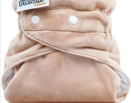 Piriuki Luxe Pocket Diaper (One Size, Sahara )