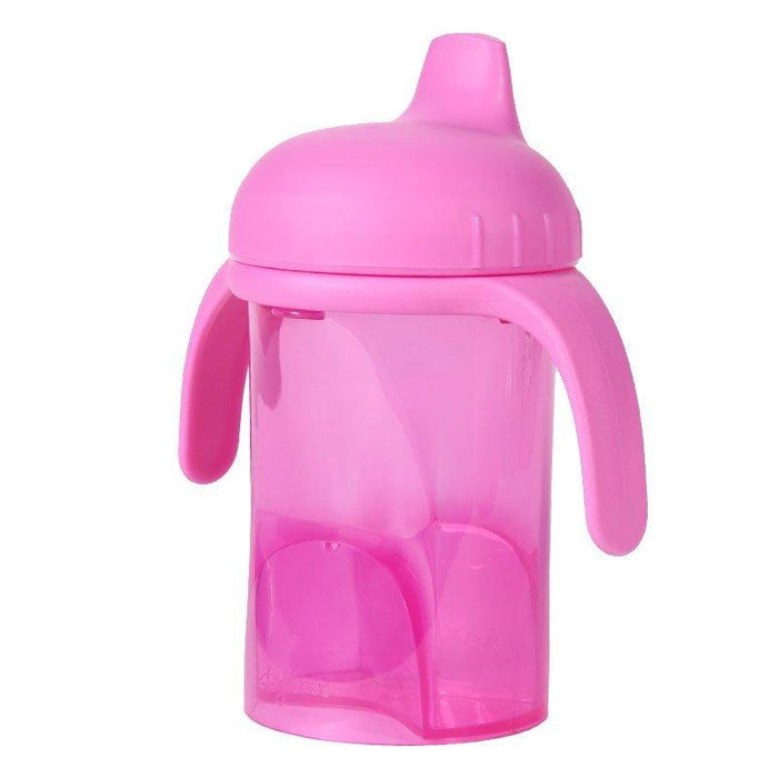 Difrax 250 ml Hard Spout Non Spill Sippy Cup (Pink)