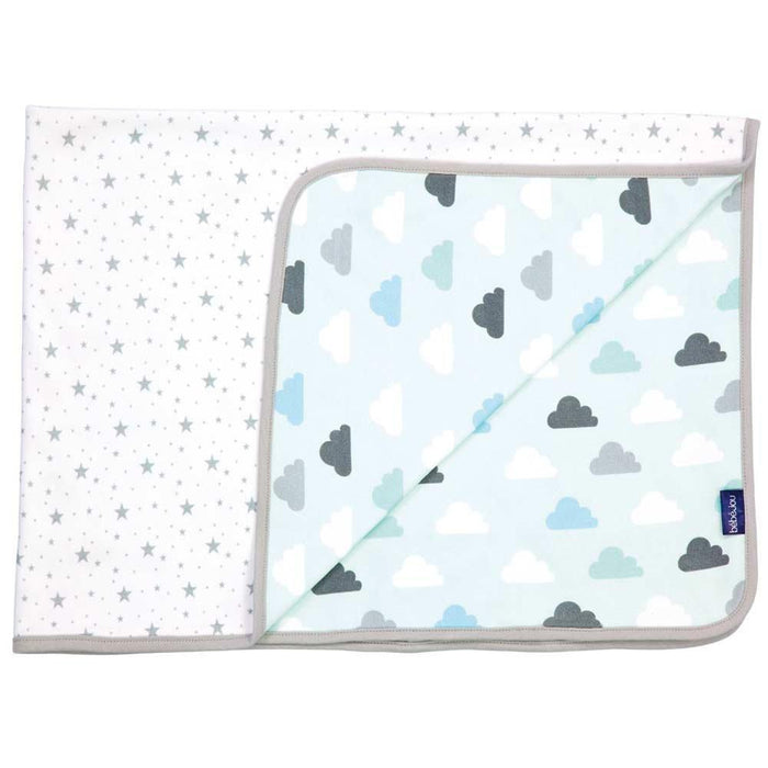 Bébé-Jou 303180 Baby Multi-Purpose Cloth, Clouds & Stars