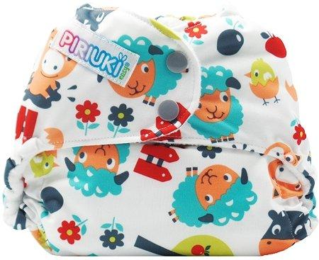 Piriuki Easy All In Pocket Diaper (Universal, Into The Farm)