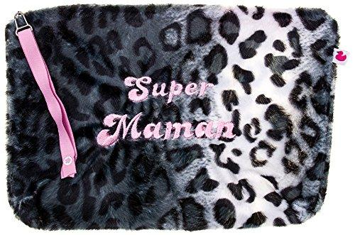 BB & Co Case Baby Leopard Faux Fur Super Mum/Pink Fur
