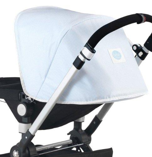 Cambrass Bugaboo C Hood Cover  Street (Sky Blue)