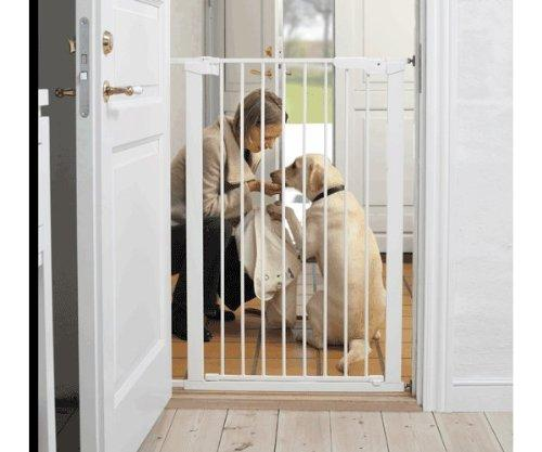 BabyDan Extra Tall Pressure Indicator Safety Gate (White)