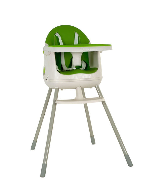 Keter 3-in-1 Multi-Dine Convertible High Chair / Booster Seat / Junior Seat, White & Green