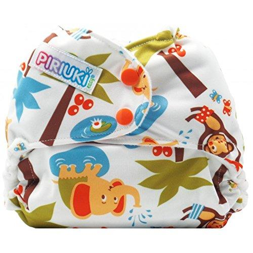 Piriuki Easy All In Pocket Diaper (Universal, Into The Jungle)