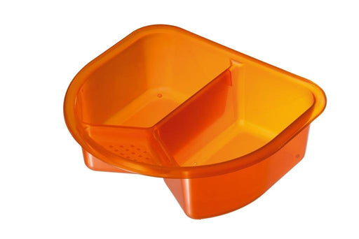 Rotho Babydesign Top and Tail Bowl (Translucent Orange)