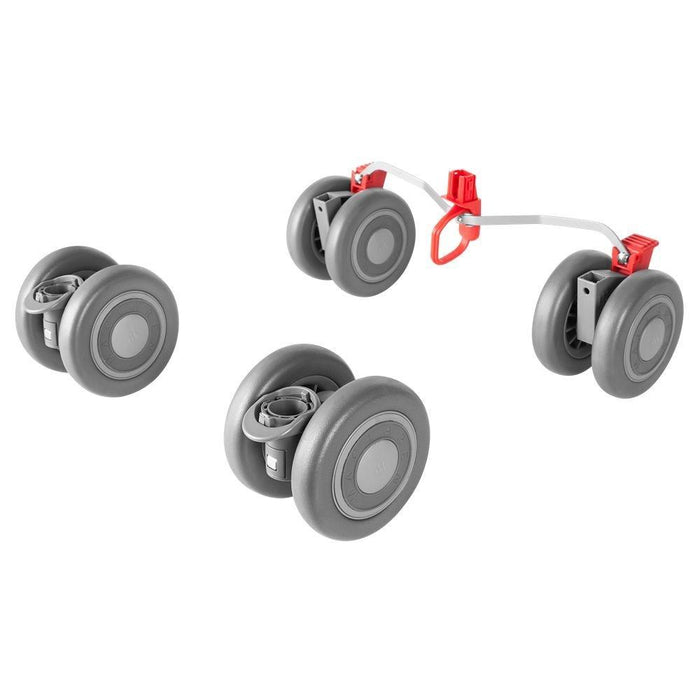 Maclaren Quest Front and Rear Wheels (Silver)