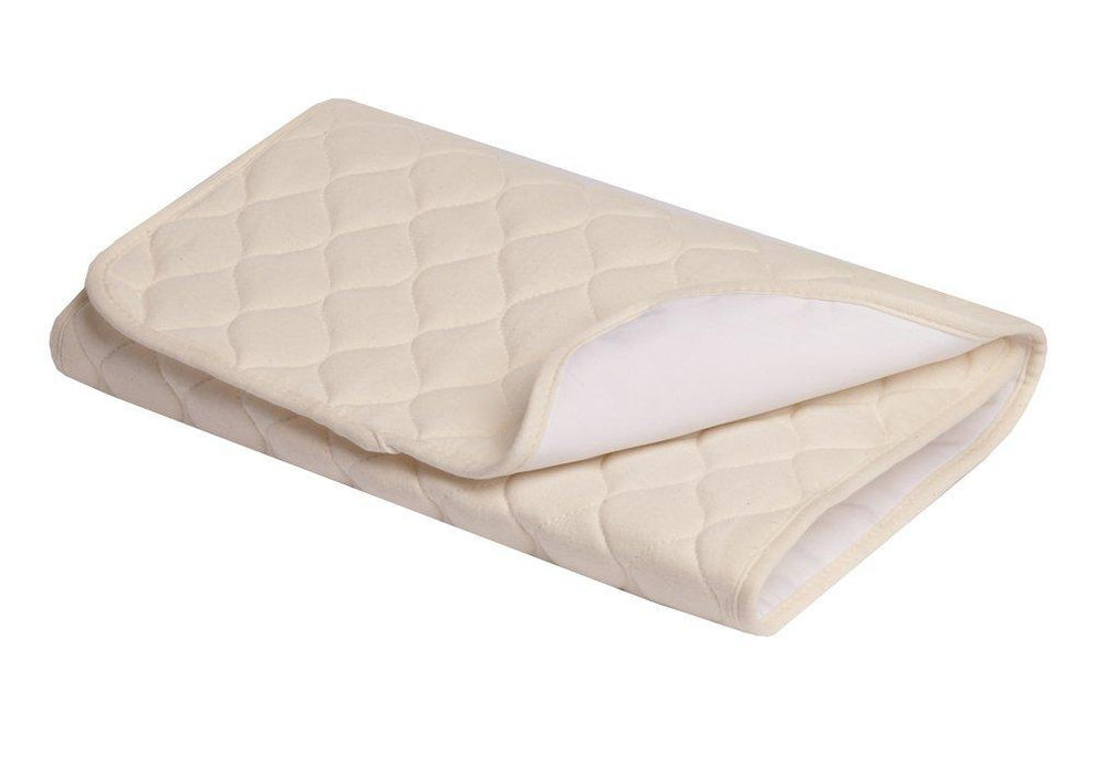 American Baby Company Waterproof Quilted Multi-Use Pad Cover made with Organic Cotton, Natural Color