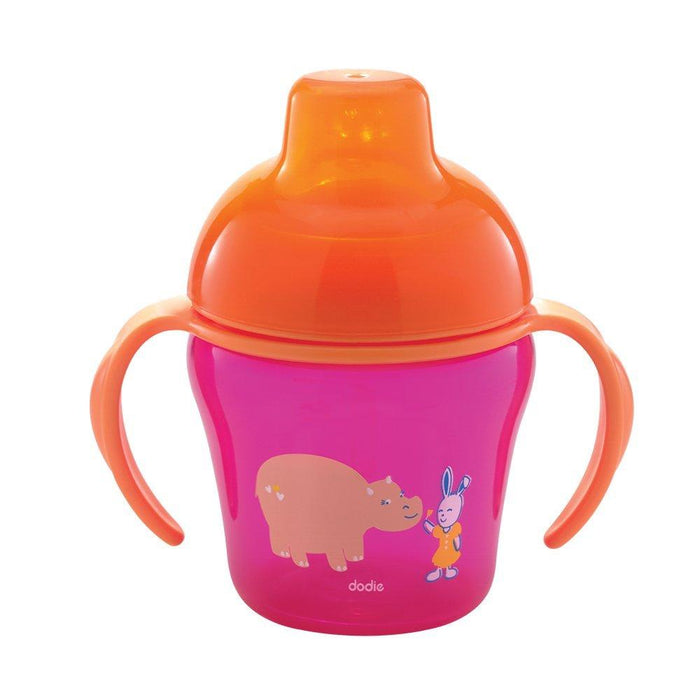 Dodie Pink Learning Cup 6 Months + 200ml