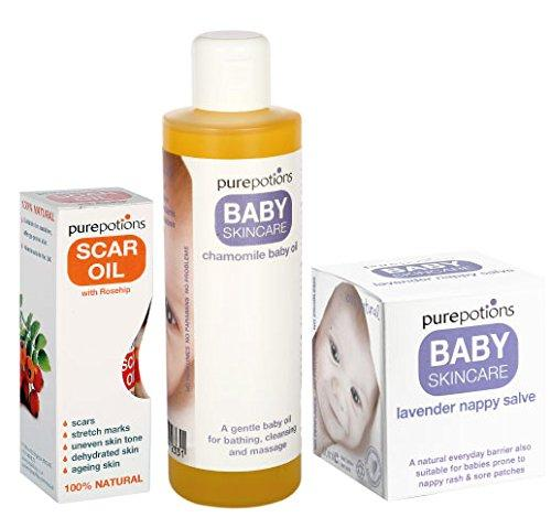Purepotions Baby Oil Package