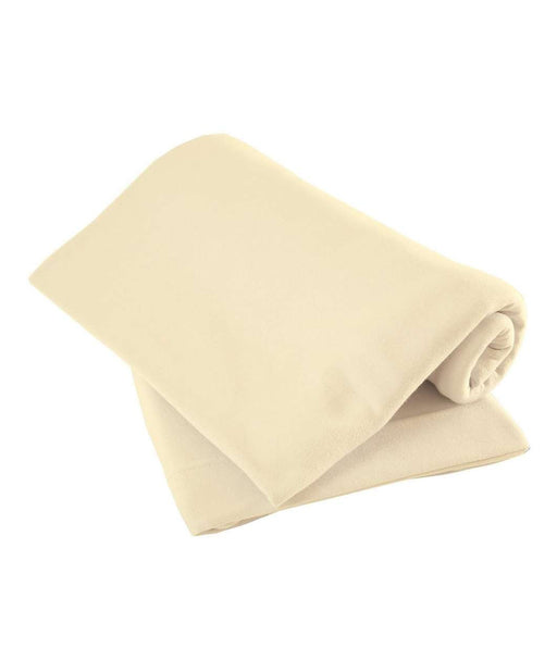 Mamas & Papas Cot Fitted Sheets 63 x 127 cm - Cream, Pack of 2