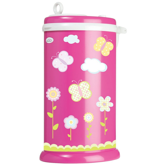 Ubbi Diaper Pail Decal (Butterfly)