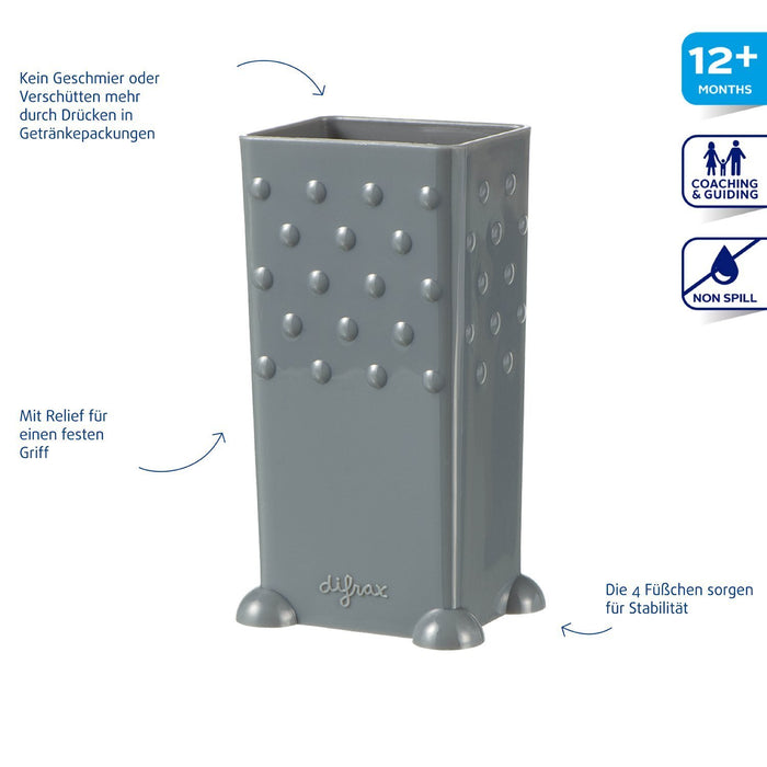 Difrax Juice Box Holder (Grey)