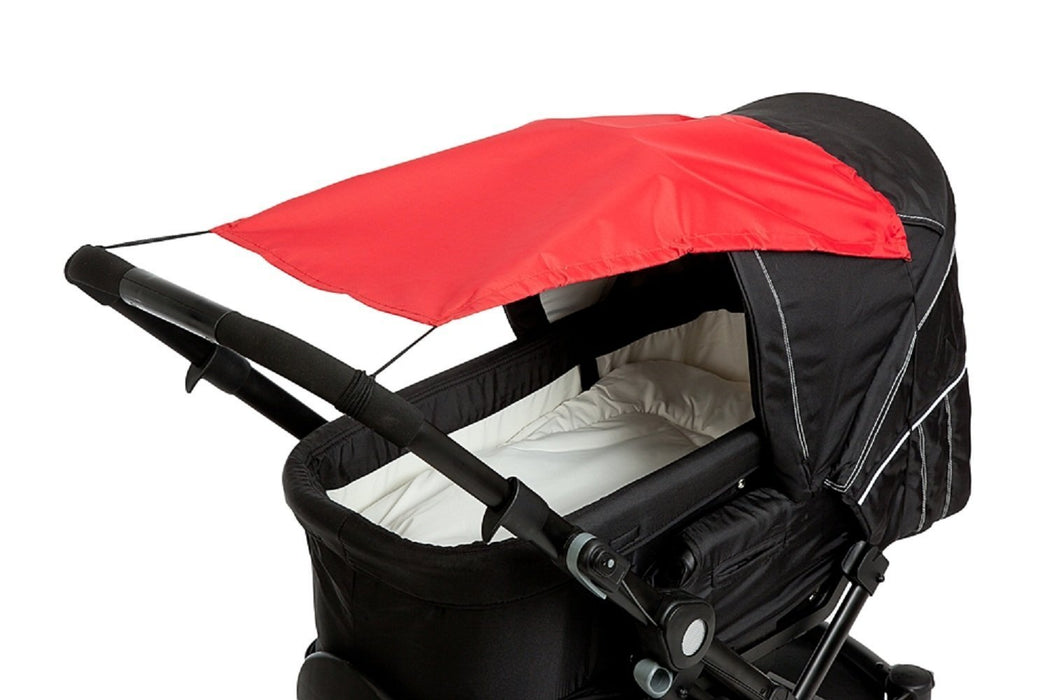 Altabebe Baby Sunshade with UV Protection for Pram/Stroller (Red)