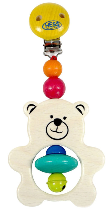 Hess Wooden Decor Hanger Funny Animals (Set of 6, Sorted)