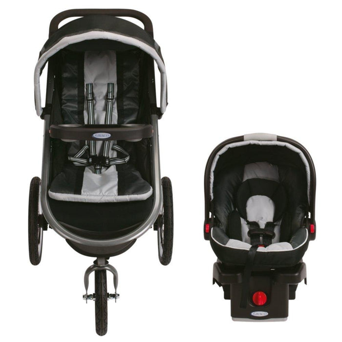 Graco Fastaction Fold Jogger Click Connect Baby Travel System, Gotham