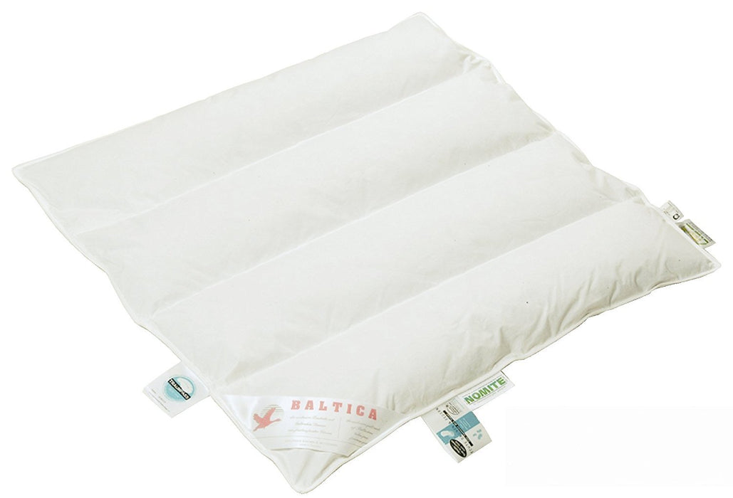 ARO Artländer Baby Baltica 9043480 Duvet White Baltic Goose Down Class 1 90% Down Washable at 60 °C 80 x 80 cm