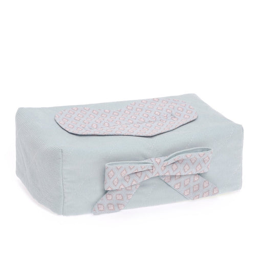 Therese Accessoires Velvet Cord Cover for Baby Wipes (17 x 9 cm)