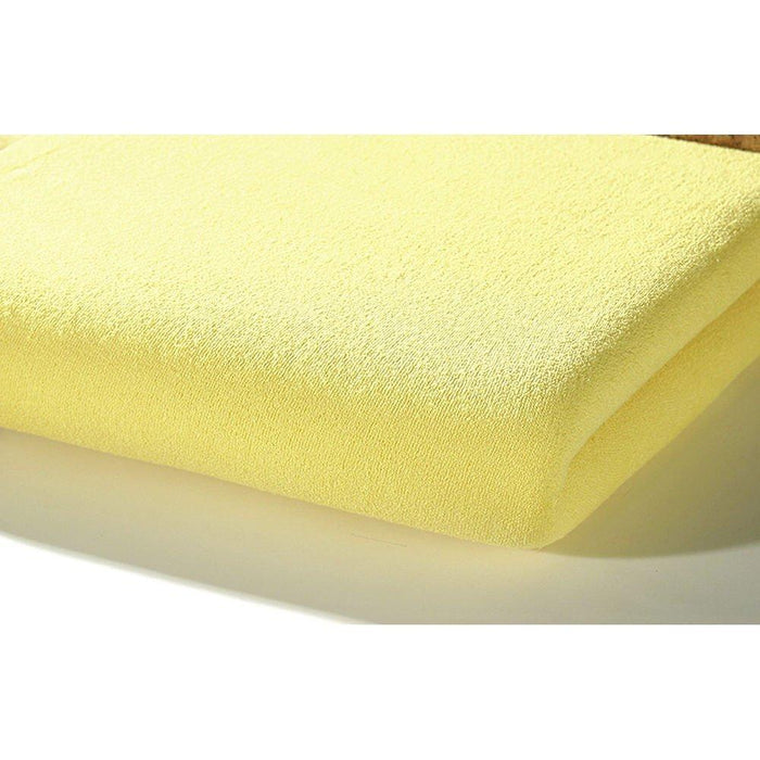 Alvi Jersey Fitted Sheet (70 x 140 cm, Yellow)