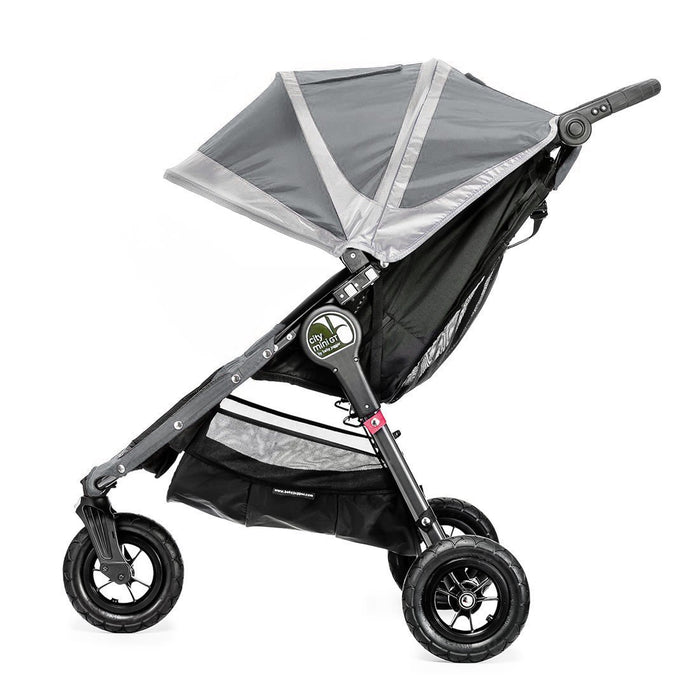 Baby Jogger City Mini Single Stroller (Steel Grey)