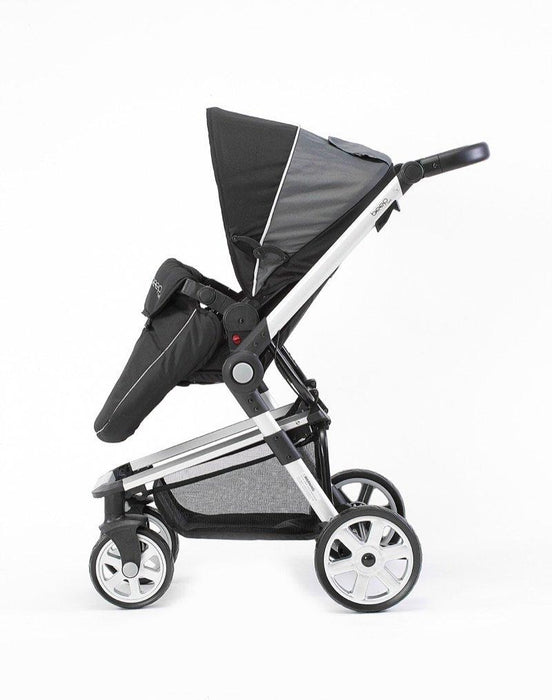 Beep Twist Travel System 3 in 1 prams with car seat (Black)