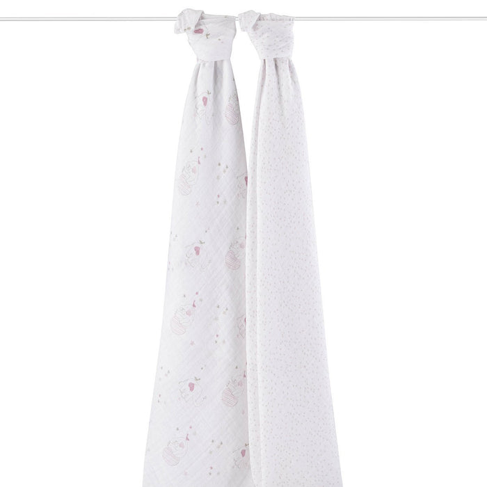 aden + anais Classic Swaddle (Lovely, Pack of 2)