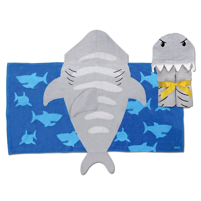 Stephen Joseph Hooded Towel, Shark