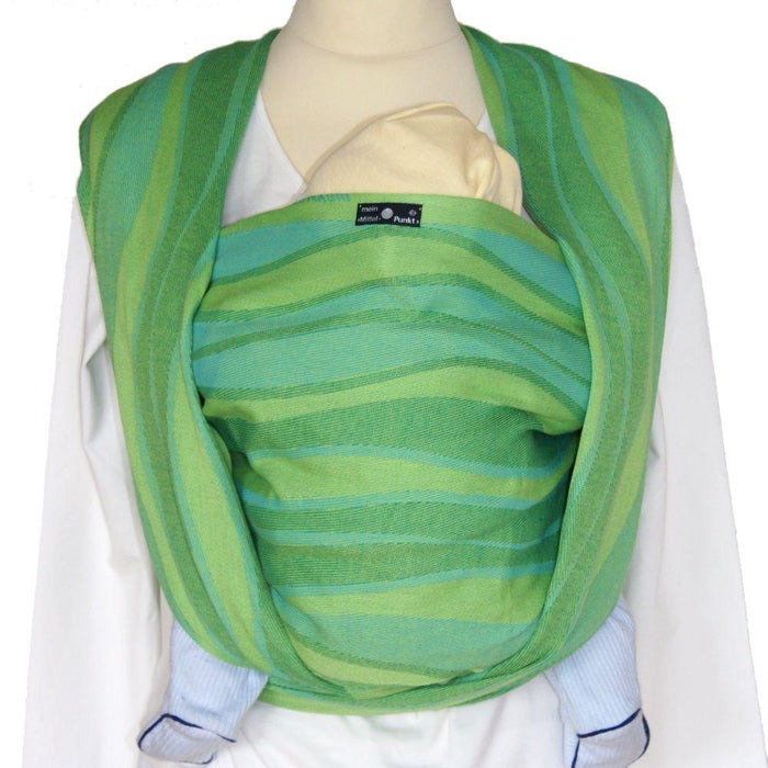 Didymos Waves Baby Wrap Sling (Size 8, Lime)