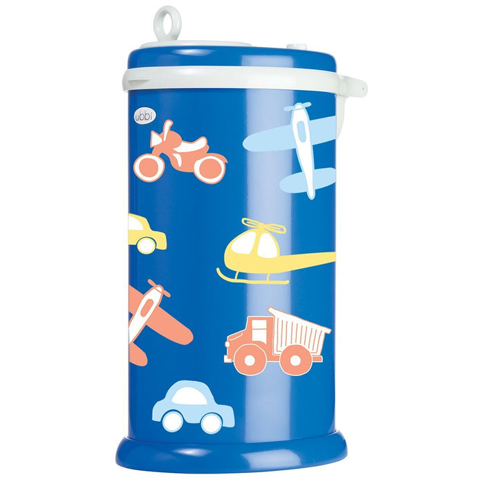 Ubbi Diaper Pail Decal (Transportation)