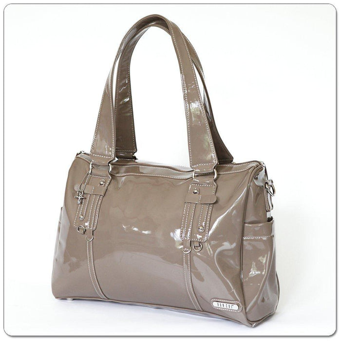 Vanchi NU Leather Soho Boxy/ Taupe