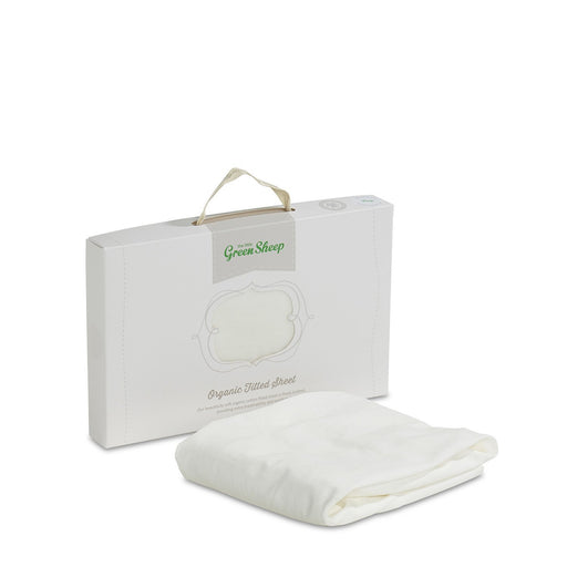 The Little Green Sheep Organic Moses Basket Jersey Fitted Sheet