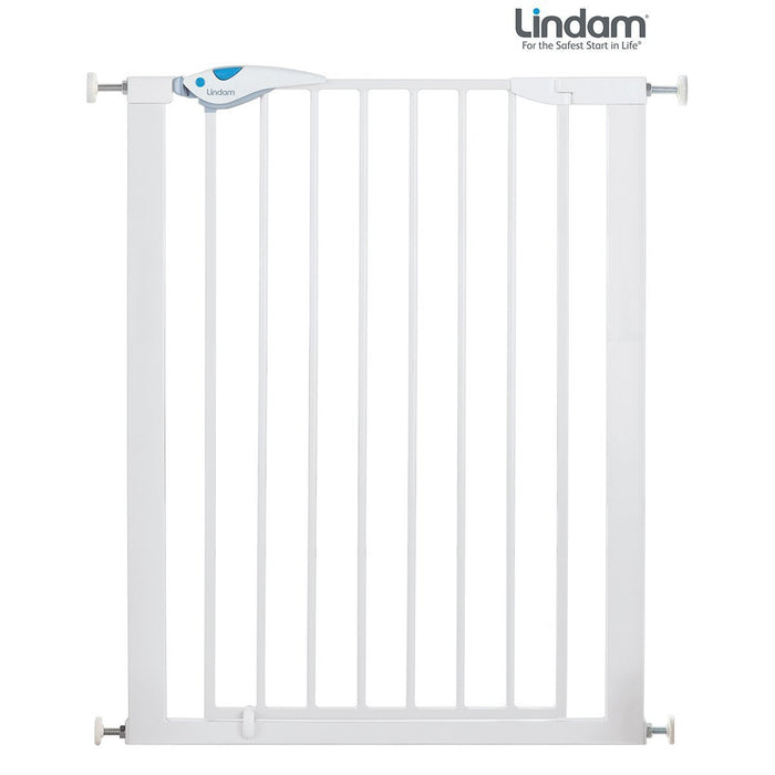 Lindam Easy Fit Plus Deluxe Tall Extra High Pressure Fit Gate - 76 - 82 cm (white)