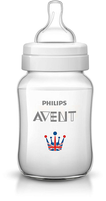 Philips Avent Classic Plus Royal SCF573/35 Newborn Flow Baby Bottle (260 ml)